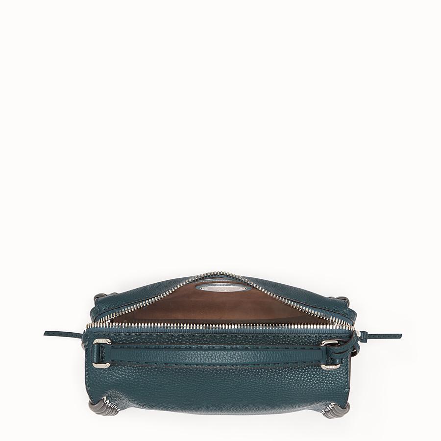 FENDI LEI BAG SELLERIA - 綠色和灰色Selleria波士頓手提包 - view 4 detail