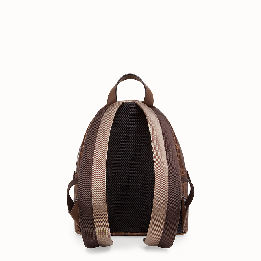 FENDI MINI BACKPACK - Small multicolour canvas backpack - view 3 detail