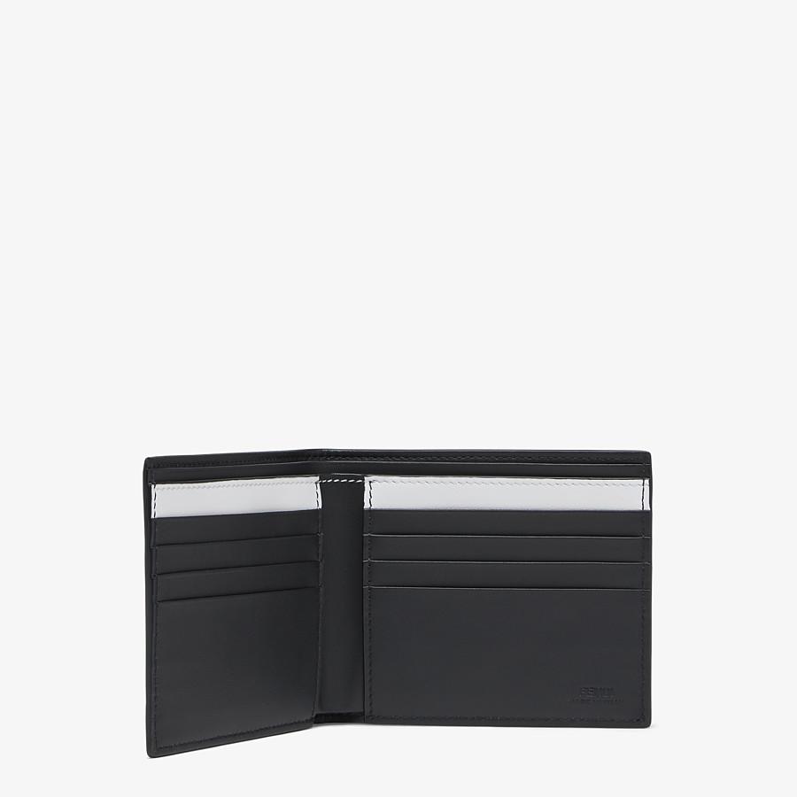 FENDI 財布 - FENDI ROMA ジョシュア・ヴィーダス レザー 二つ折り財布 - view 3 detail
