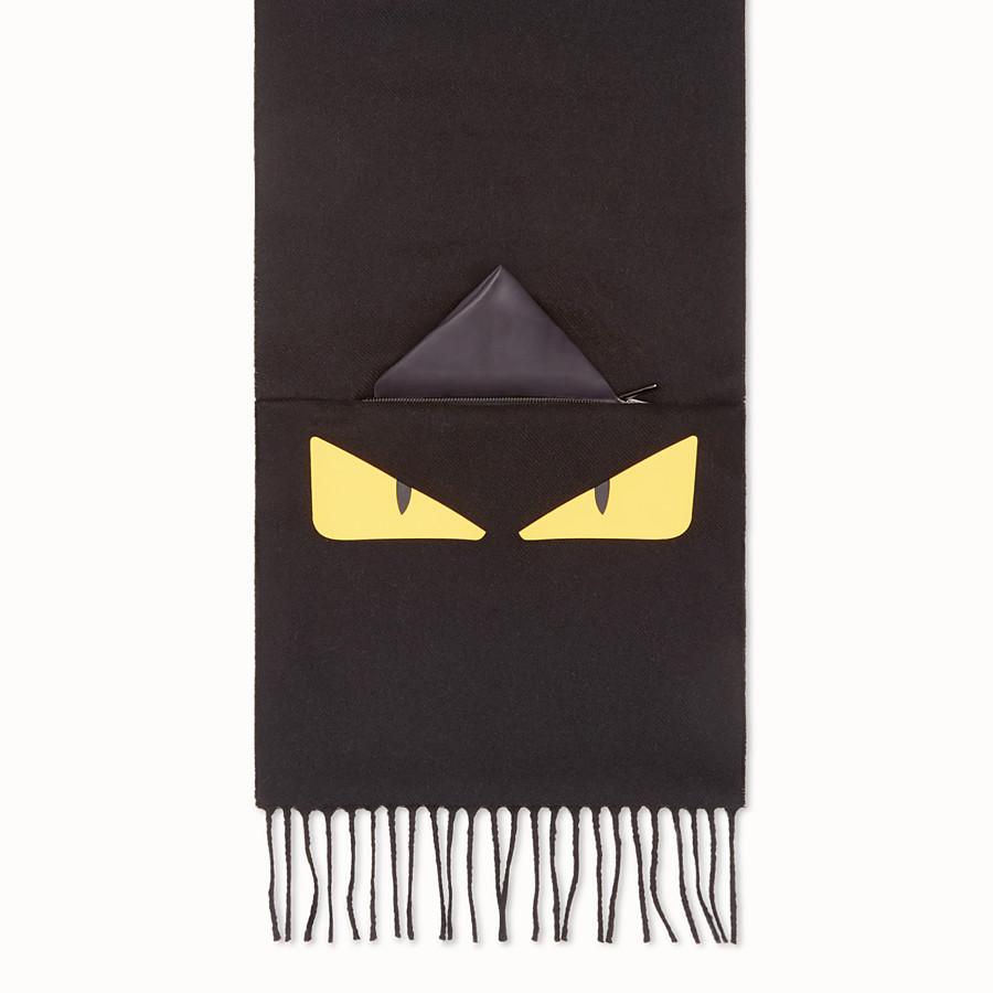 FENDI SCHAL - Schal aus Wolle in Schwarz - view 1 detail