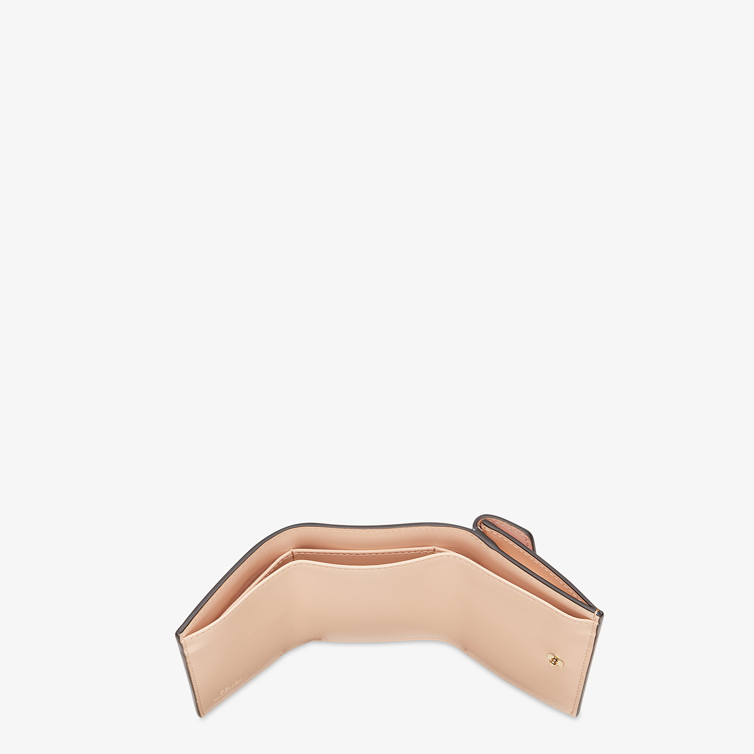 FENDI MICRO TRIFOLD - Multicolor leather wallet - view 4 detail