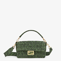 FENDI BAGUETTE - Jacquard fabric interlace bag - view 1 thumbnail