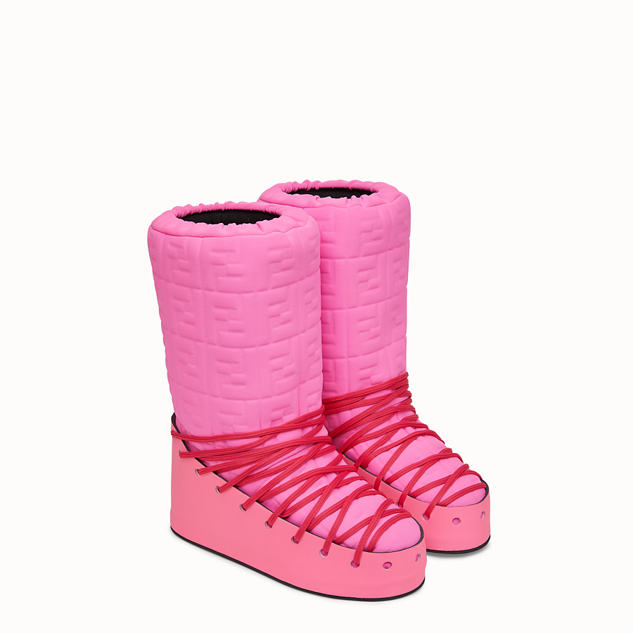 FENDI SKI BOOT - Fendi Prints On boots in Lycra® - view 4 detail