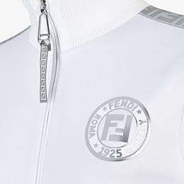 FENDI SWEATSHIRT - Sweatshirt aus Jersey in Weiß - view 3 thumbnail