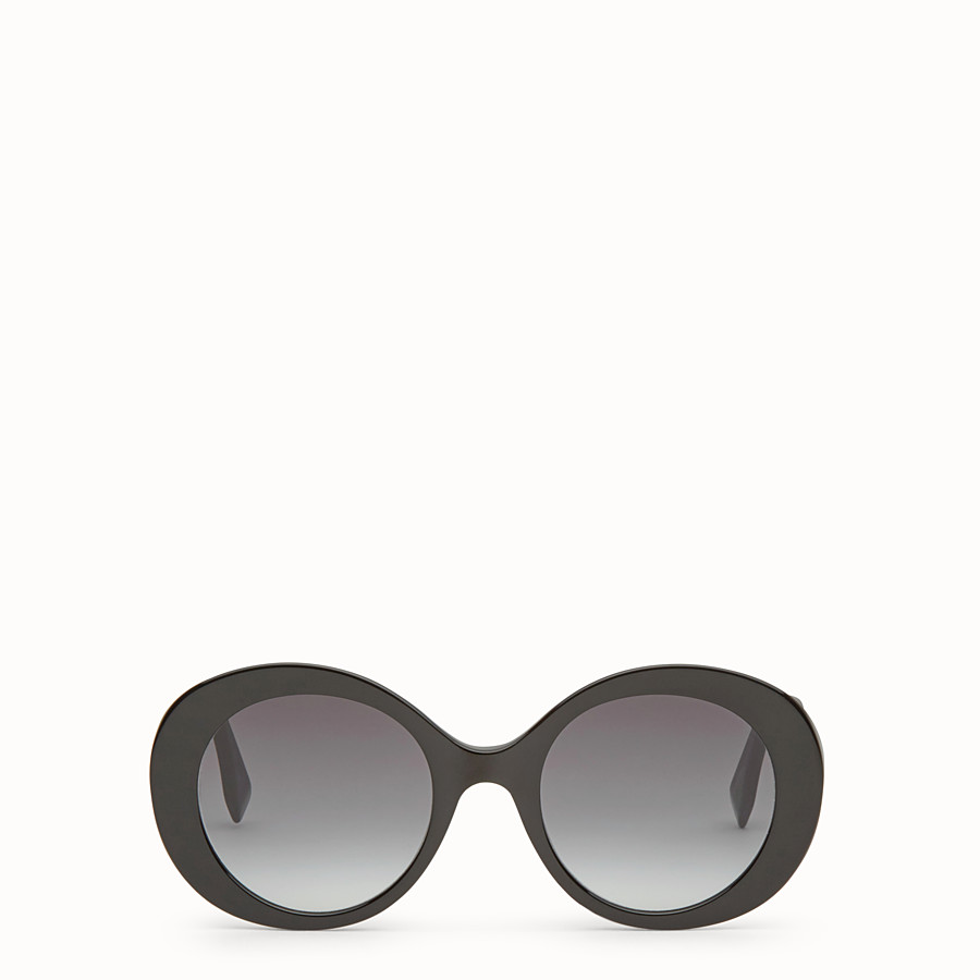 FENDI PEEKABOO - Black sunglasses - view 1 detail