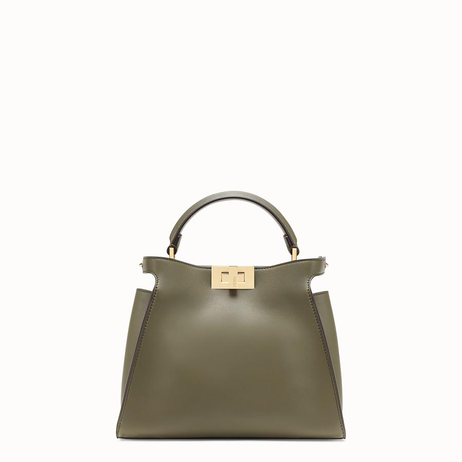Green leather bag - PEEKABOO ESSENTIALLY
