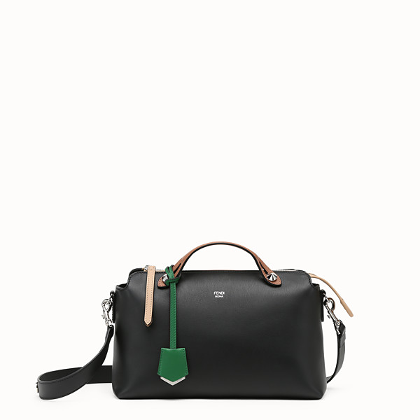 FENDI BY THE WAY REGULAR - Sac Boston en cuir multicolore - view 1 small thumbnail