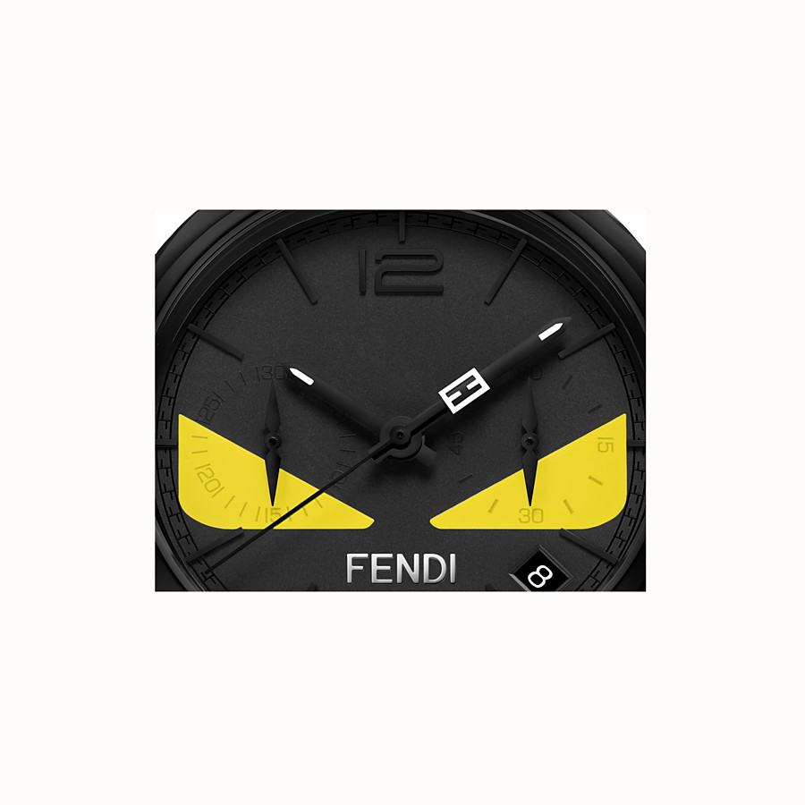 FENDI MOMENTO FENDI BUGS - 40 mm - Chronograph watch with strap - view 3 detail