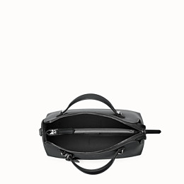 FENDI BY THE WAY MEDIUM - Small Boston bag in black leather - view 4 thumbnail