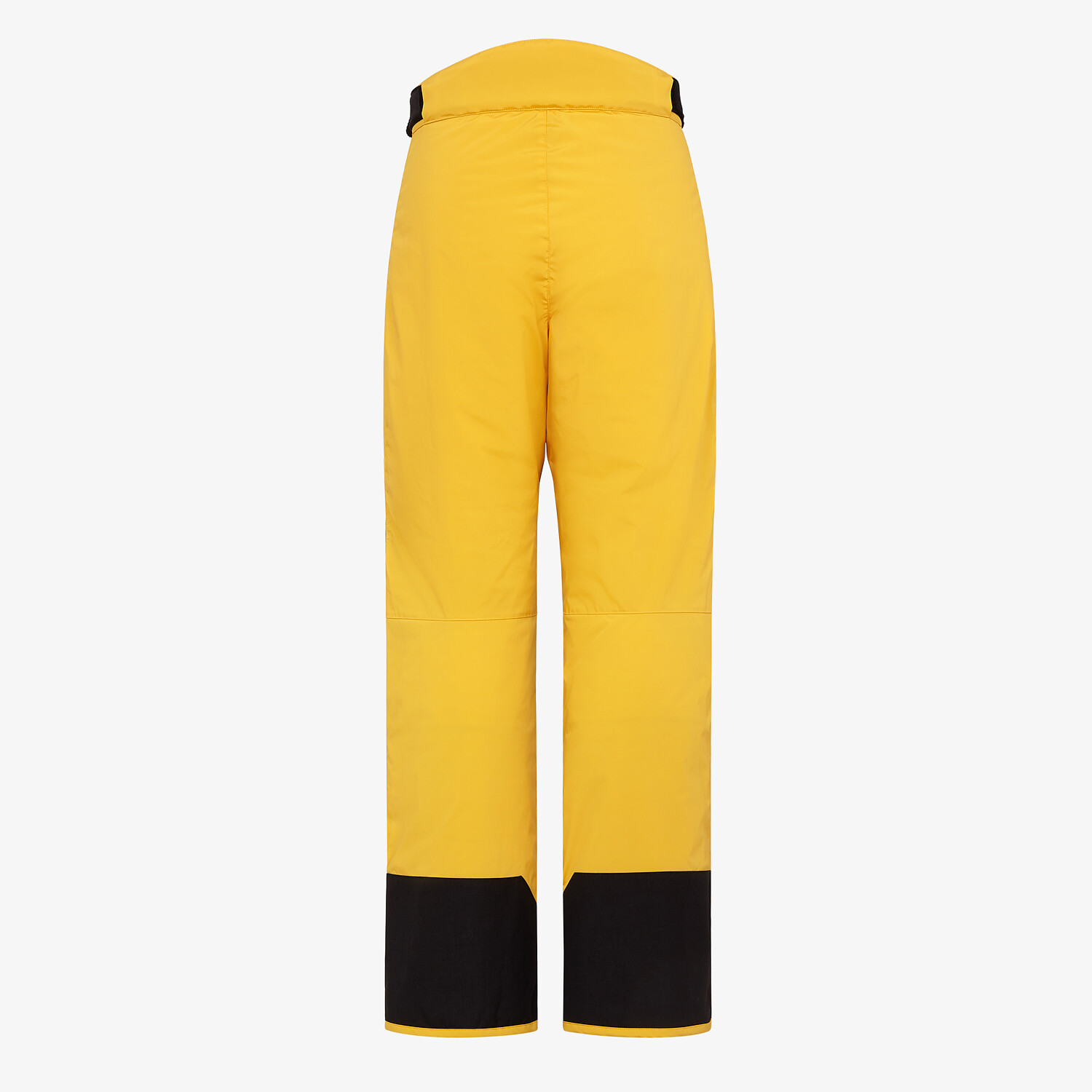 FENDI PANTS - Yellow tech fabric jogging pants - view 2 detail