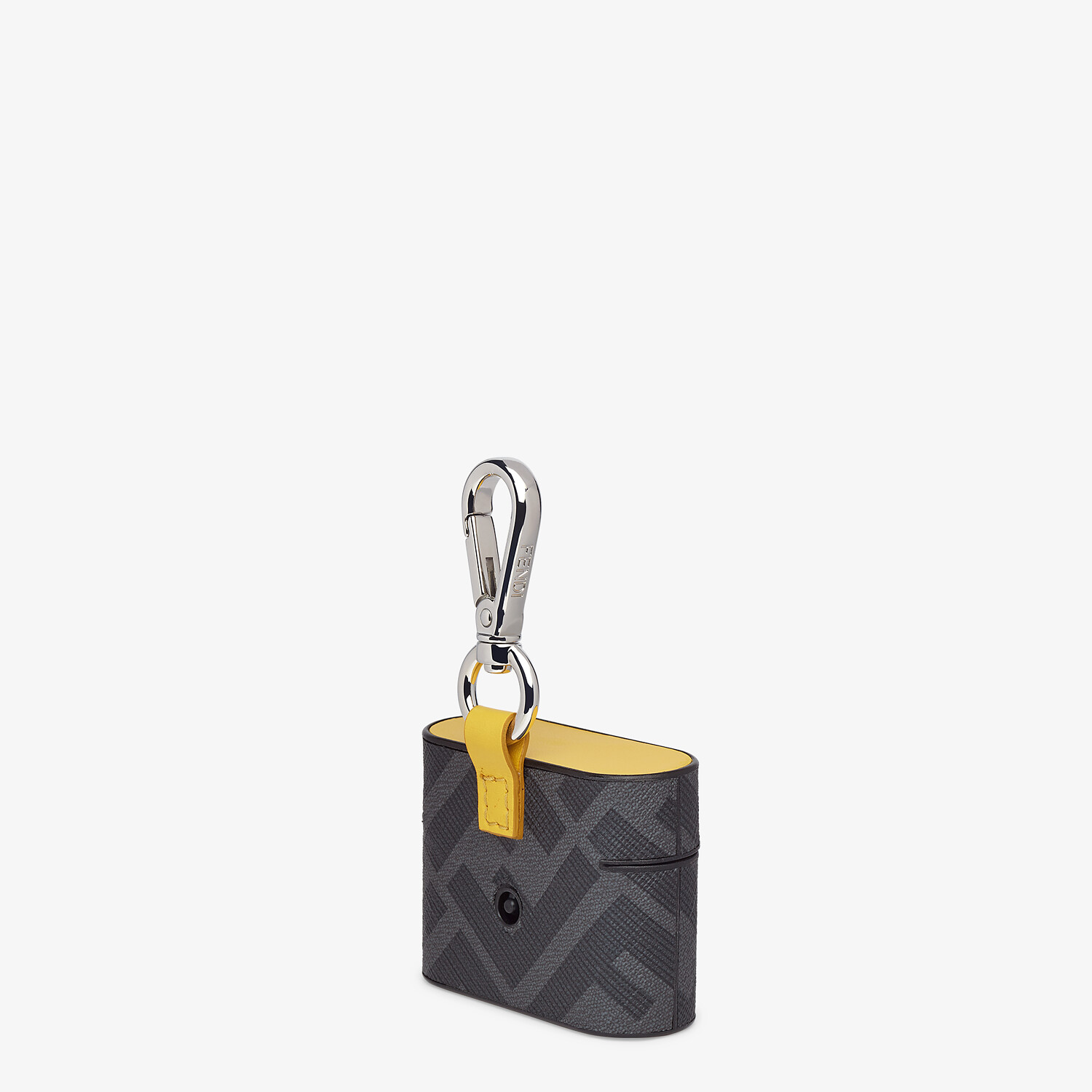 FENDI HEADPHONE HOLDER - Black fabric case - view 2 detail