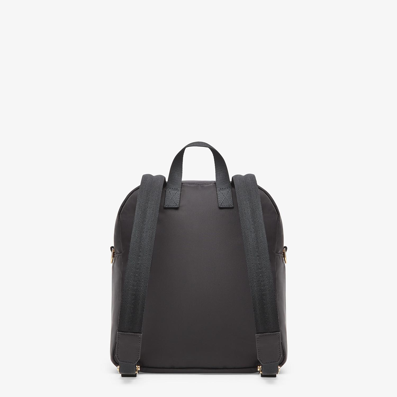 FENDI BAGUETTE BACKPACK - Black nylon backpack - view 4 detail