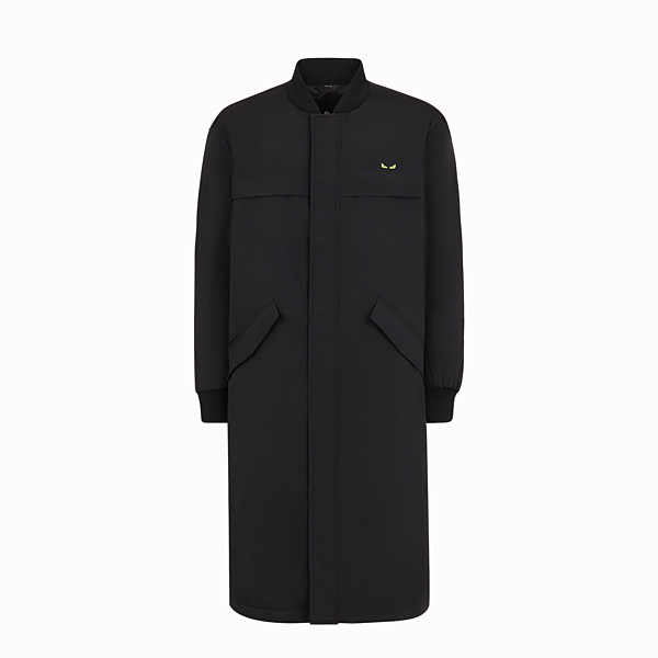FENDI PARKA - Black tech fabric parka - view 1 small thumbnail