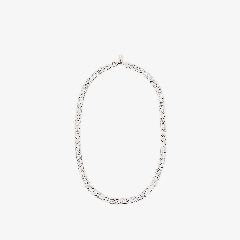 FENDI NECKLACE - Silver-coloured necklace - view 1 detail