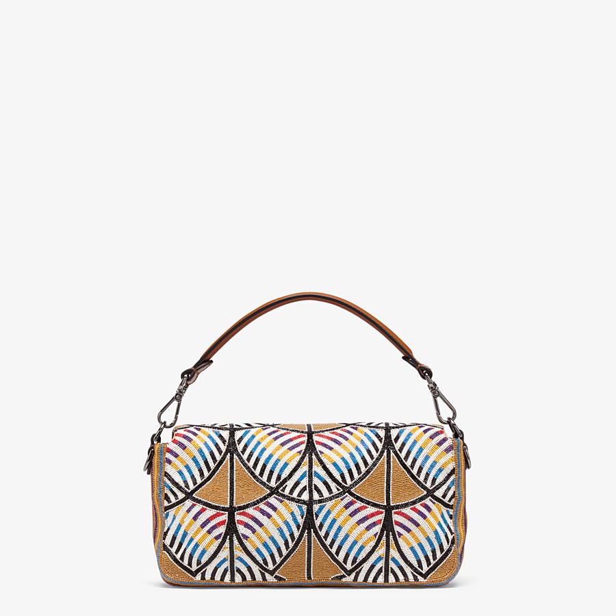 FENDI BAGUETTE - Tasche mit Stickerei Mehrfarbig - view 4 detail
