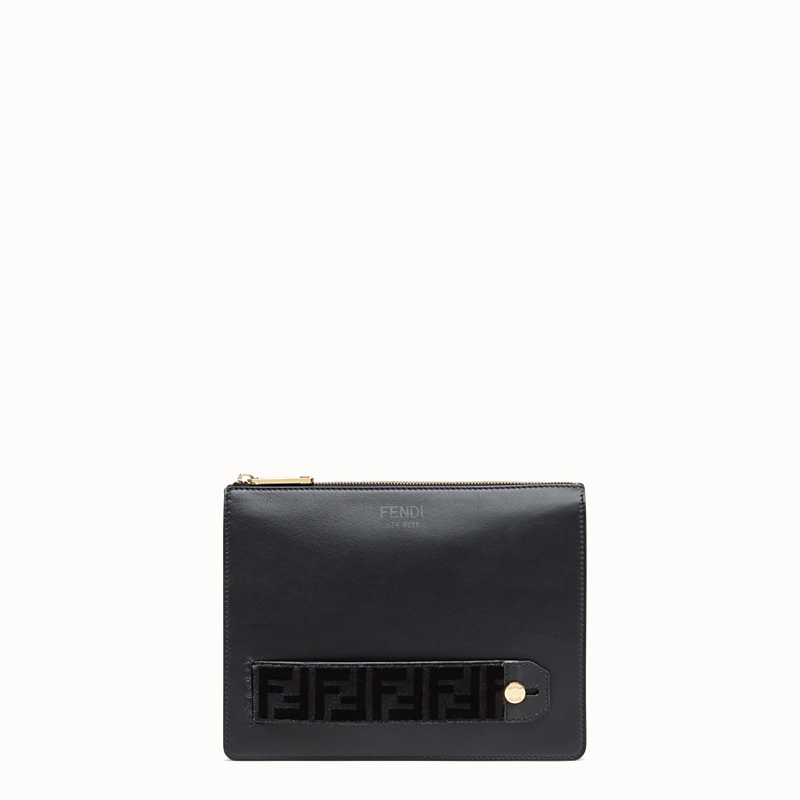 FENDI CLUTCH - Fendi clutch for Jackson Wang in leather - view 1 detail