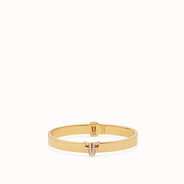 FENDI FFREEDOM BRACELET - Gold-colour bracelet - view 1 small thumbnail