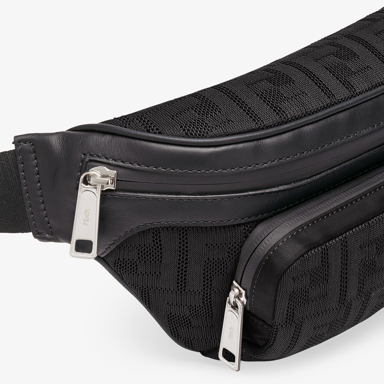 FENDI BELT BAG - Black fabric belt bag - view 5 detail