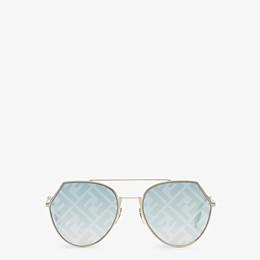 FENDI EYELINE - Gafas de sol doradas - view 1 thumbnail