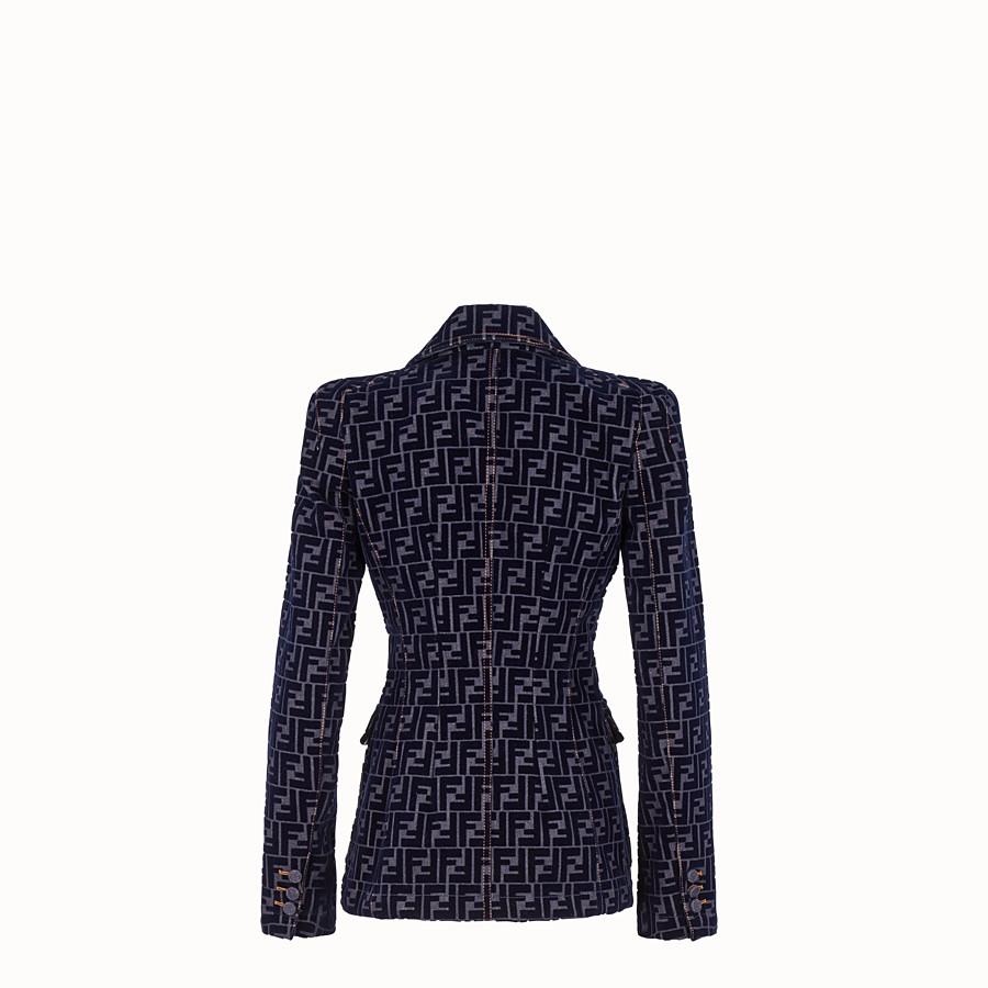 FENDI JACKET - Blue denim jacket - view 2 detail