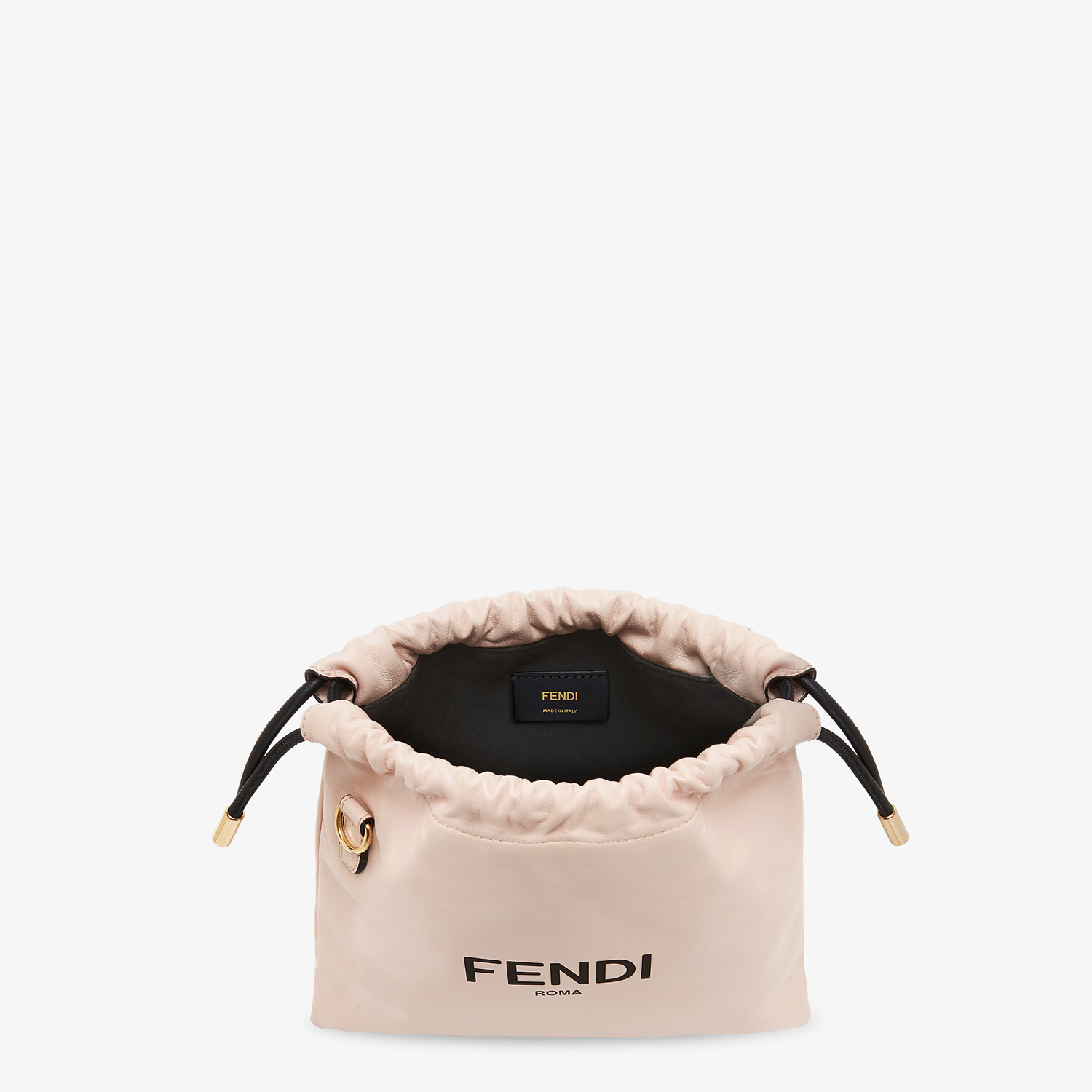 FENDI FENDI PACK SMALL POUCH - Pink nappa leather bag - view 5 detail