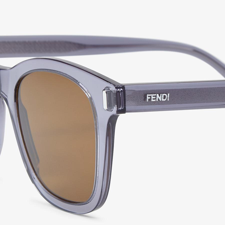FENDI FENDI - Blue sunglasses - view 3 detail