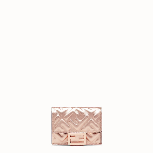 FENDI MICRO TRIFOLD - Wallet from the Chinese New Year Limited Capsule Collection - view 1 small thumbnail