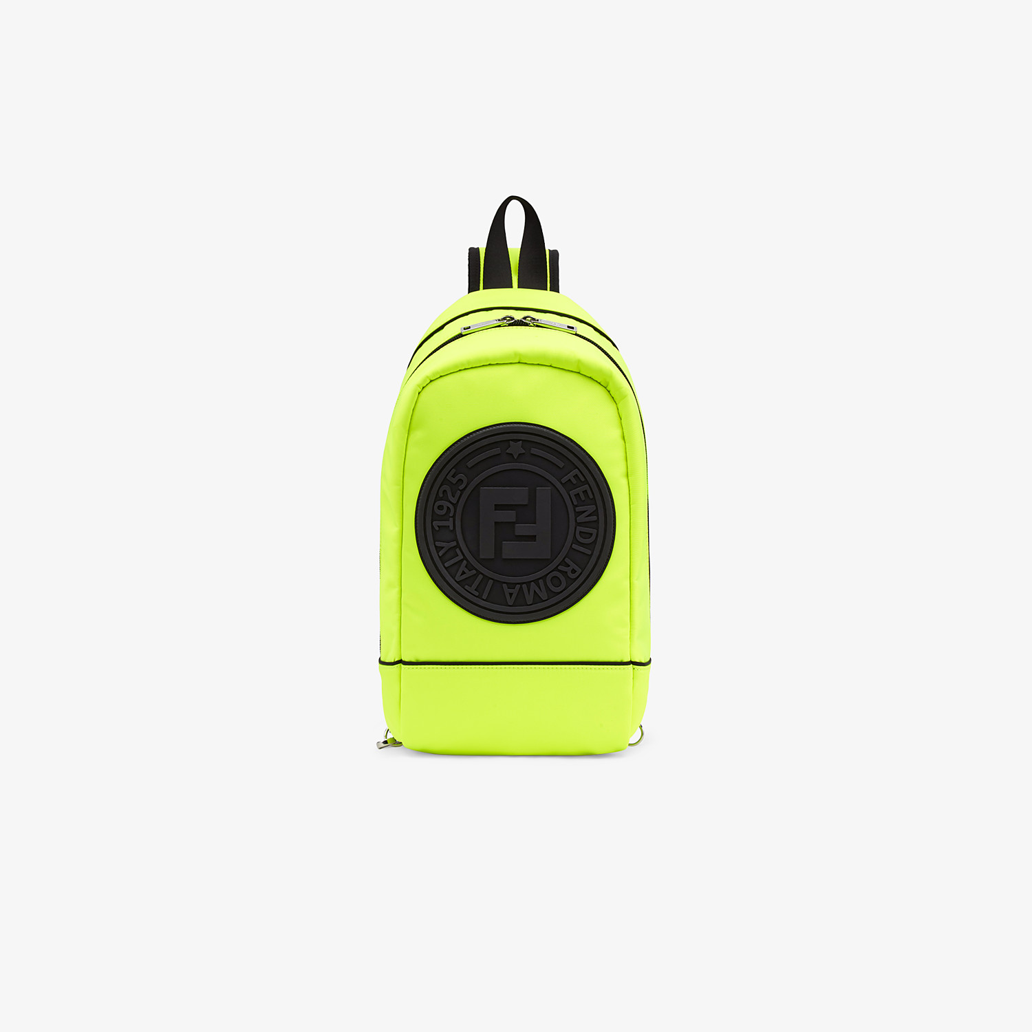 FENDI BABY BACKPACK - Yellow nylon backpack - view 1 detail