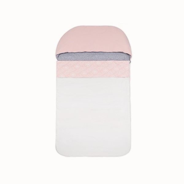 FENDI SLEEPING BAG - Pink cotton sleeping bag - view 1 small thumbnail
