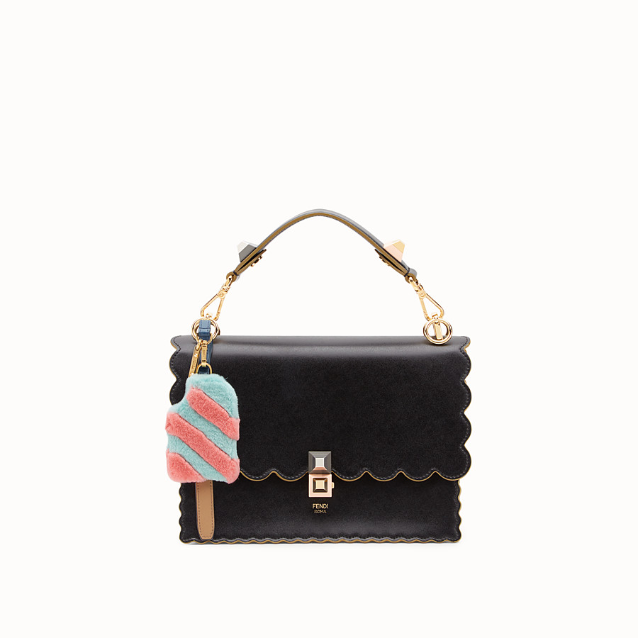 FENDI ICE-CREAM CHARM - Multicolour fur charm - view 2 detail