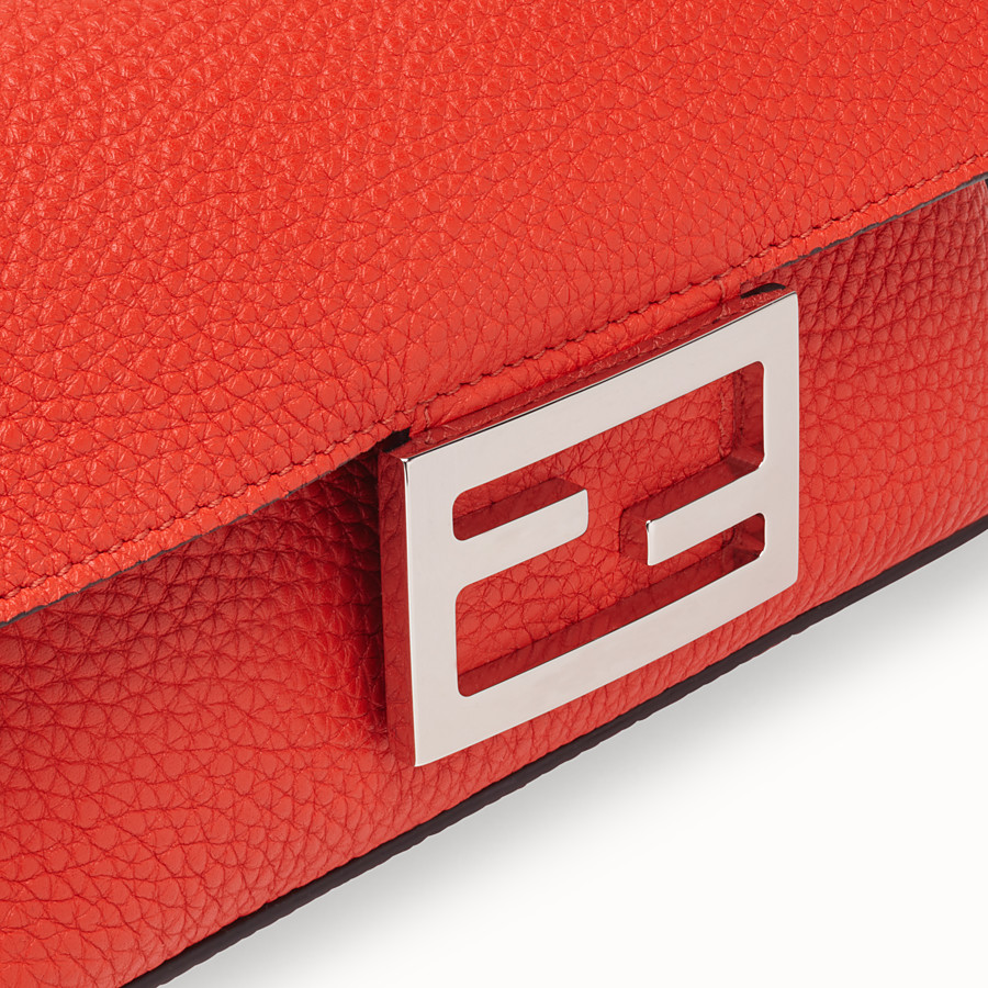 FENDI MINI BAGUETTE - Fendi Roma Amor leather bag - view 5 detail