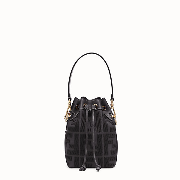 FENDI MON TRESOR - Black canvas mini-bag - view 1 small thumbnail