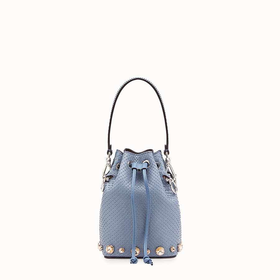 FENDI MON TRESOR - Pale blue python mini-bag - view 1 detail
