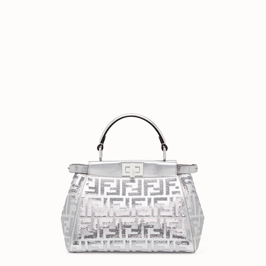 FENDI PEEKABOO ICONIC MINI - Borsa Fendi Prints On in pelle - vista 1 dettaglio
