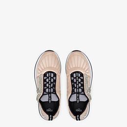 FENDI SNEAKERS - Sneaker aus Satin in Rosa - view 4 thumbnail
