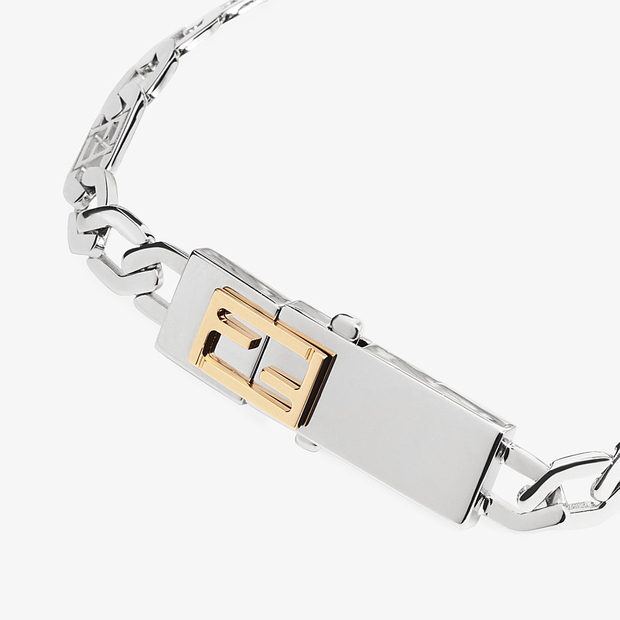FENDI BRACELET - Silver-colored bracelet - view 2 detail