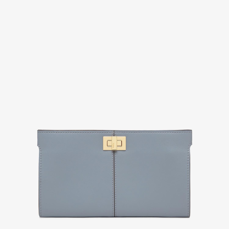 FENDI 皮夾 - 淡藍色皮革皮夾 - view 1 detail