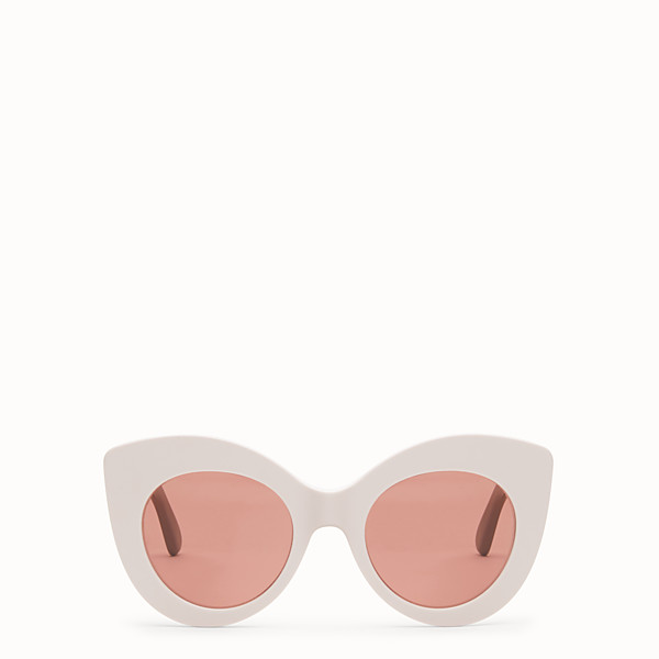 FENDI F IS FENDI - Pink and mauve sunglasses - view 1 small thumbnail