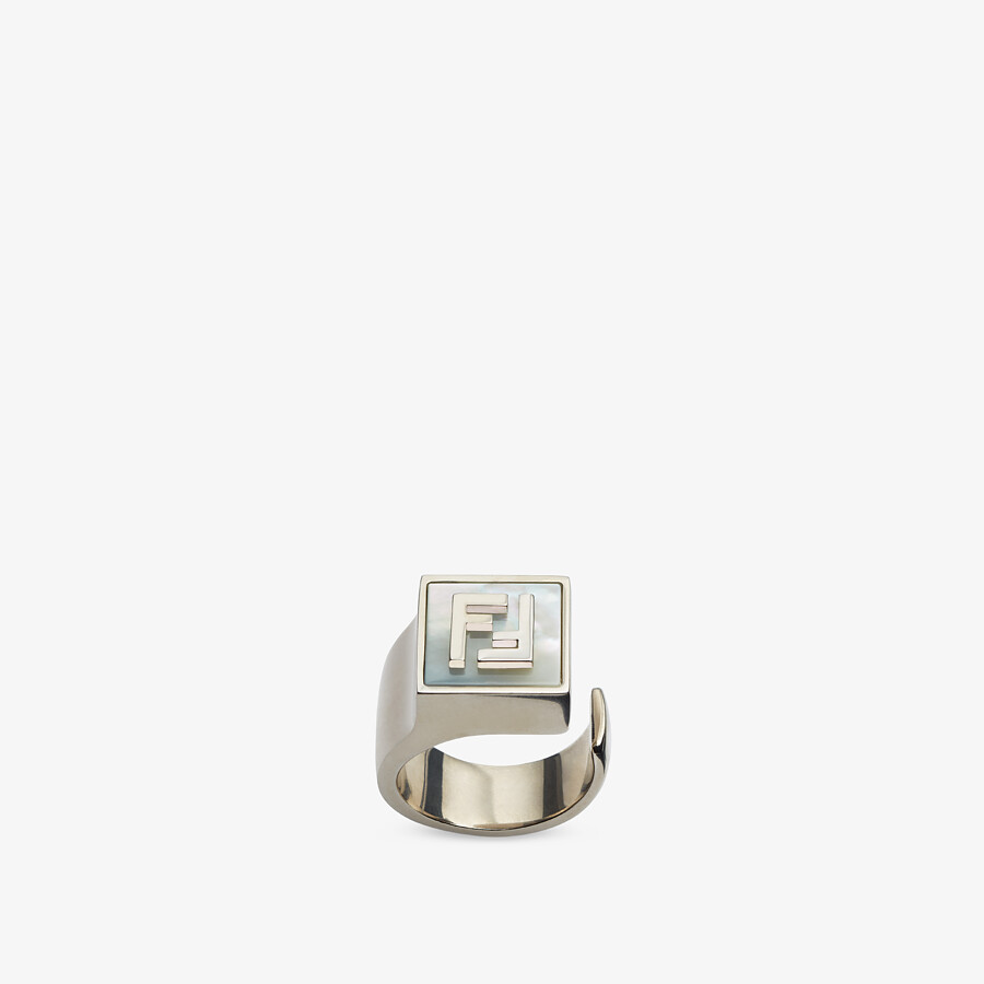 FENDI RING - Silver-colored ring - view 1 detail