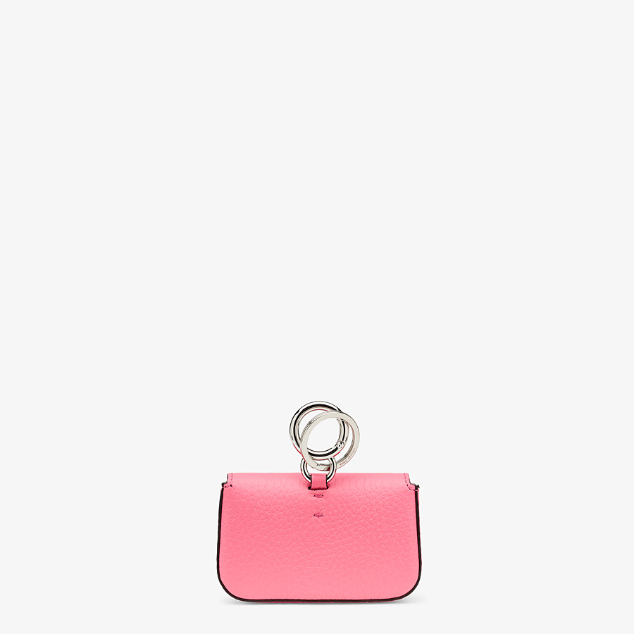 FENDI NANO BAGUETTE CHARM - Fendi Roma Amor leather charm - view 3 detail