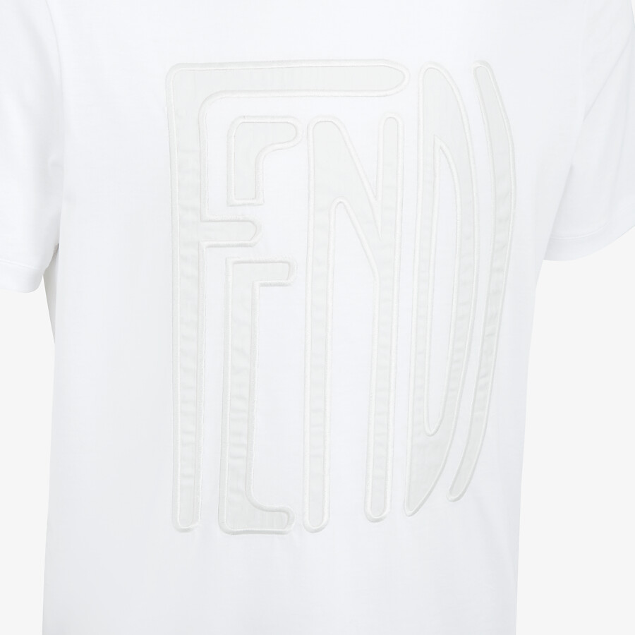 FENDI T-SHIRT - Fendi X Anrealage cotton T-shirt - view 3 detail