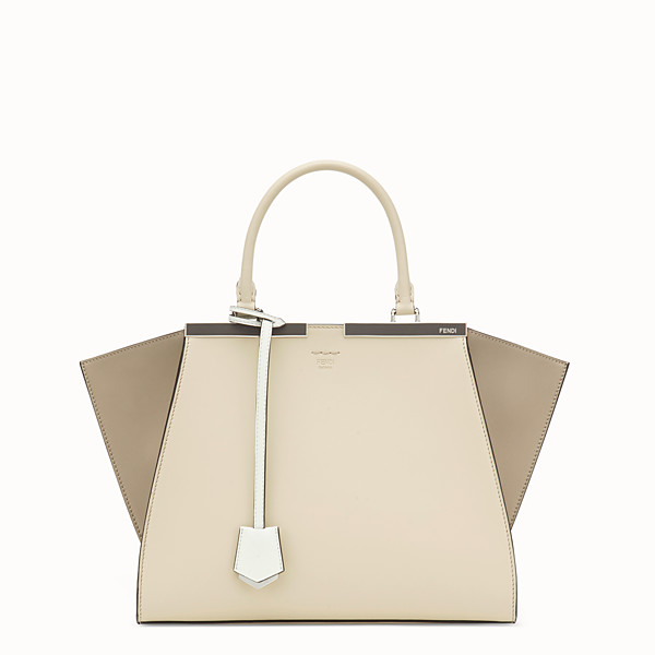 FENDI 3JOURS - Beige leather bag - view 1 small thumbnail