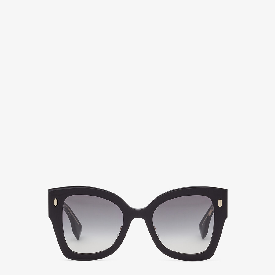 FENDI FENDI ROMA - Black acetate sunglasses - view 1 detail