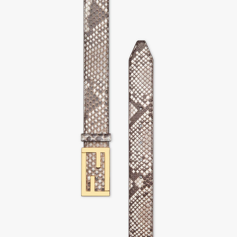 FENDI BELT - White python belt - view 2 detail
