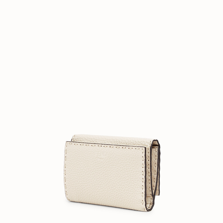 FENDI CONTINENTAL MEDIUM - White leather wallet - view 2 detail