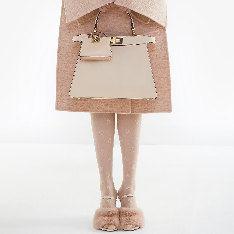 FENDI FENDI FIRST - Pink mink high-heeled sandals - view 5 detail