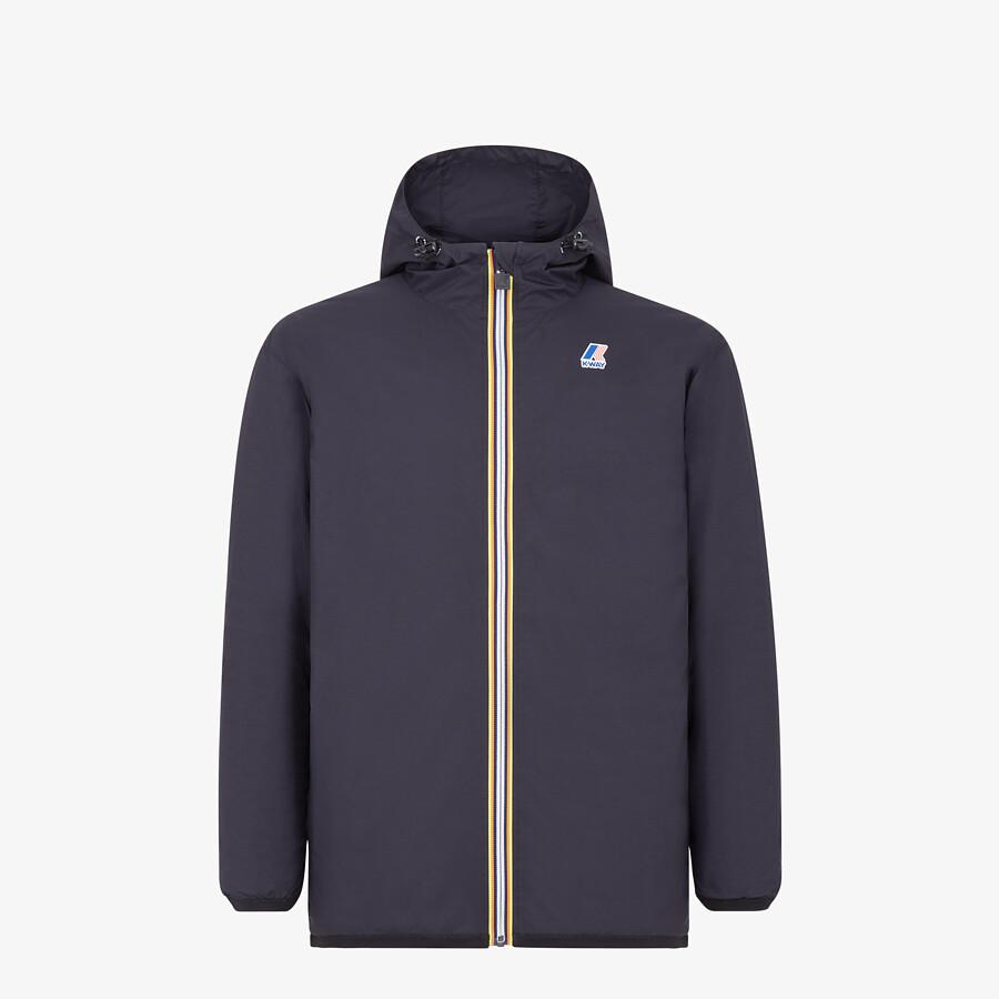 FENDI WINDBREAKER - FF mink and nylon FENDI x K-Way® jacket - view 4 detail