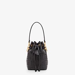 FENDI MON TRESOR - Black leather mini-bag - view 1 thumbnail
