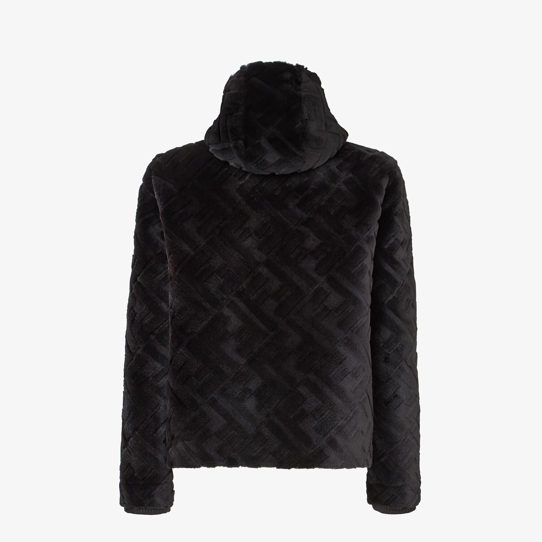 FENDI JACKET - Black mink jacket - view 2 detail