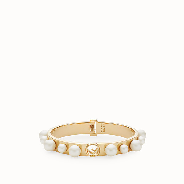 FENDI F IS FENDI BRACELET - Gold-colour bracelet - view 1 small thumbnail
